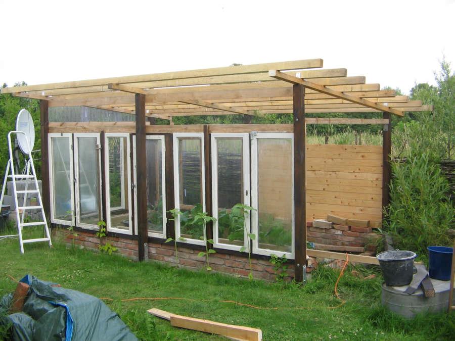 teil 9 das dach entsteht m ein gew chshaus selber bauen. Black Bedroom Furniture Sets. Home Design Ideas