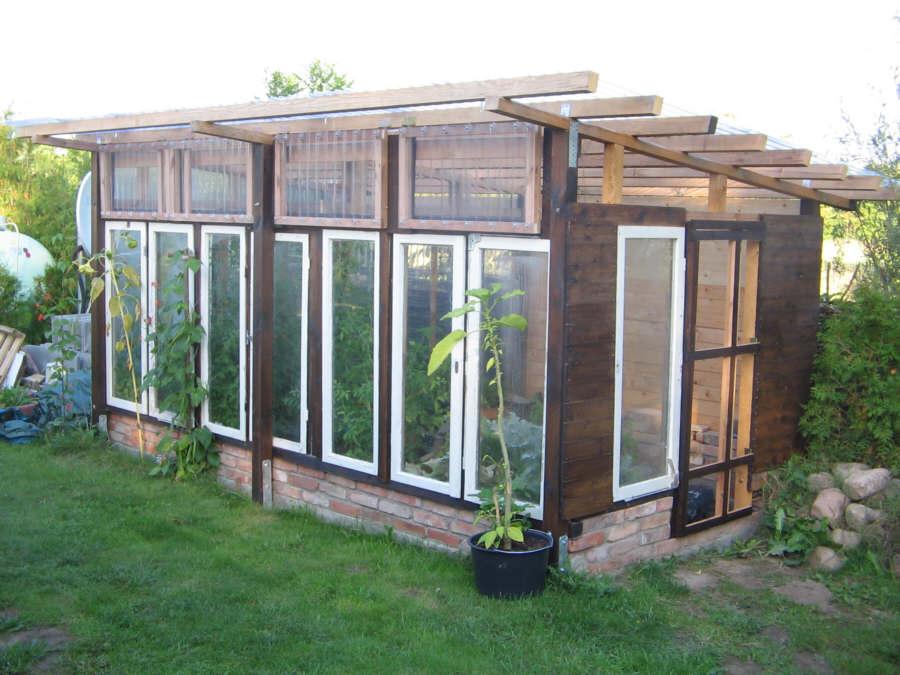 Gewächshaus Selberbauen teil 14 ausstellfenster und tür einbauen m ein gewächshaus selber